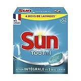 Sun Tablet lavastoviglie tout-en-1standard x 52Pastiglie 4mesi di Lavaggi–Lotto di 2