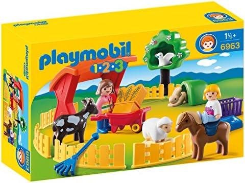 Playmobil 1.2.3. - 6963 - - - Parc animalier | Bradées  f3eee8