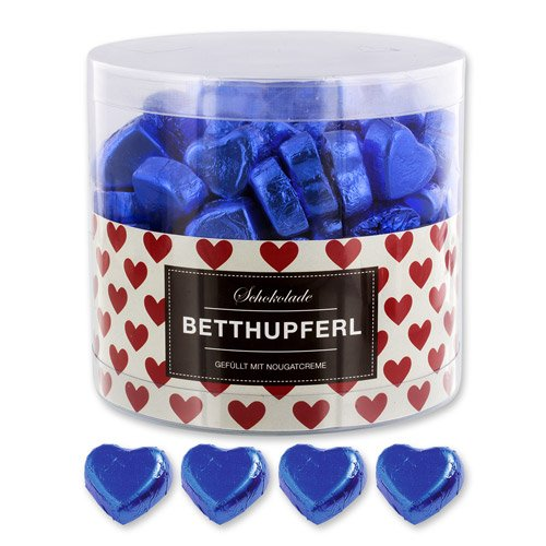 150 blaue Schokolade Herzen Sydney -