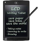 Tavoletta Grafica Scrittura Tablet LCD - Rantizon Disegno Grafica Digitale Board, Graphics Board Portatile con Stilo, 8.5 Pollici Memo Pad, Ewriter LCD Writing Tablet per Bambini, in Ufficio o Casa