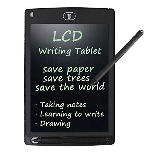 Tablet de Escritura LCD Dibujo Tableta - Rantizon 8.5 Pulgadas Dibujo Digital Gráfico Tablet, Memo Pad Electrónico con Lápiz, Tablero de Mensaje Portátil, Planificador Oficina, Regalos para Niños