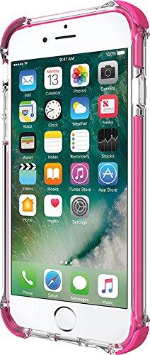 Incipio [Sport Series] Reprieve Schutzhülle für Apple iPhone 7 / 8 nach US-Militärstandard in transparent/pink [Extrem robust   Verstärkte Ecken   Kratzfeste Beschichtung] - IPH-1470-CPK transparent/pink