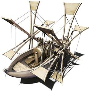 Italeri 3103S Leonardo Da Vinci - Barco de palas a escala Importado de Alemania
