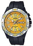 Casio Herren Analog Quarz Uhr mit Resin Armband MTD-1082-9