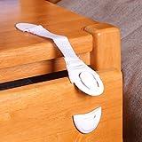 LEORX Baby Safety Lock Verriegelung Schublade Schrank Schranktür Schubladen Sicherheit fängt 10ST