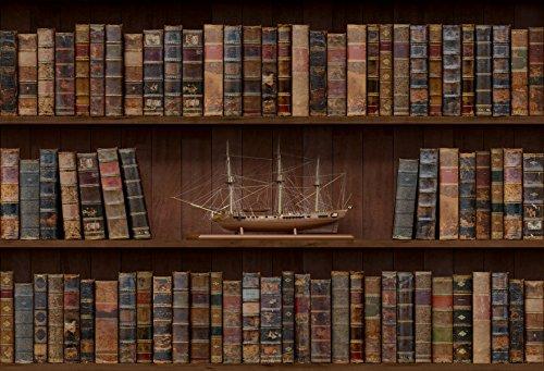 Kate 7x 150Vintage Holz Bücherregal Hintergrund für Childen Hochformat Fotoshootings braun Studio Fotografie Hintergrund
