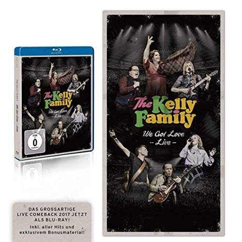 The Kelly Family - We Got Love - Live [Blu-ray] -