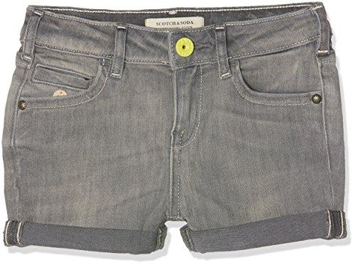 Scotch & Soda R'Belle Petit Ami Shorts-Grey Sand, Pantalones Cortos para Niños Scotch & Soda R'Belle