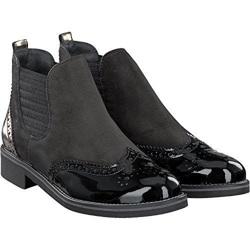 Paul Green | Chelsea Boot Softnubuk - black Black