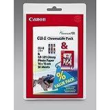 Canon original - Canon Pixma MP 600 Series (CLI-8 GP 501 / 0621 B 030) - 3 x Tintenpatrone MultiPack (cyan, magenta, gelb)