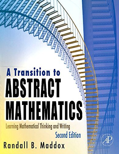 A Transition to Abstract Mathematics: Learning Mathematical Thinking and Writing