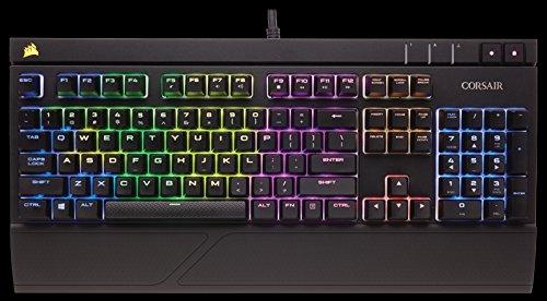 Corsair Gaming CH-9000121-DE Strafe RGB Mechanische Gaming Tastatur (Cherry MX Silent Performance Multi-Colour RGB Beleuchtung) schwarz - 7