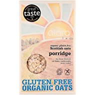 Alara Scottish Oats Porridge Flakes Organic Gluten Free 500 g (Pack of 3)