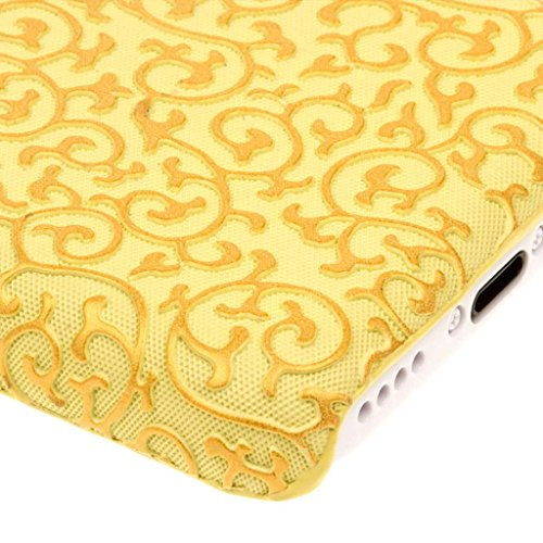 Empire Signature Series Coque fine pour Apple iPhone 5 C _ P Vintage Gold Vines