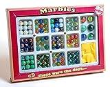 Nostalgie Retro Spiel Murmeln - 6 große und 108 kleine