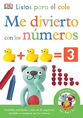 Me divierto con los números (LISTOS PARA EL COLE) por Varios autores