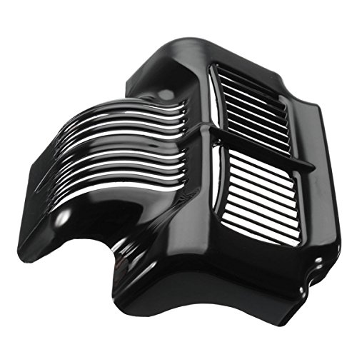 Forspero Oil Cooler Cover Black For 2011-2015 Harley Touring Electra Road Street Glide
