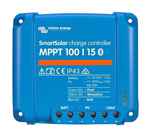Victron SmartSolar MPPT Laderegler 100/15 12V 24V 15A Solarladeregler Bluetooth integriert