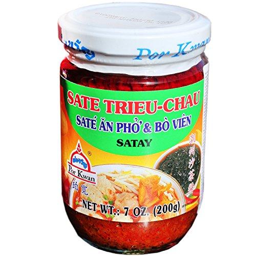 Sauce satay Trieu Chau POR KWAN 227g Thailande
