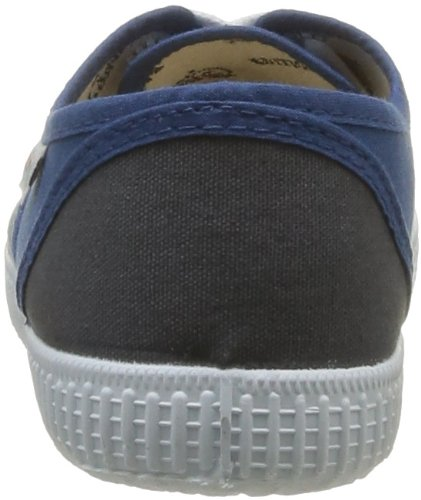 Victoria Inglesa Bicolor, Baskets Basses mixte adulte Bleu (110 Oceano-Antrac)