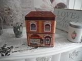 Dose Keksdose Kaffeedose Teedose Art Cafe Bäckerei Blechdose Nostalgie Shabby Retro Vintage