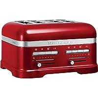 KitchenAid 5KMT4205ECA 4slice(s) 2500W Rojo - Tostador (4 rebanada(s)