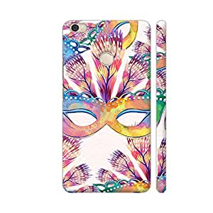 Colorpur Xiaomi Mi Max Prime Cover - Elegant Party Masquerade Printed Back Case