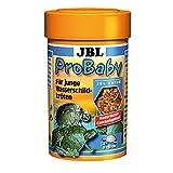 JBL ProBaby 70360 Spezialfutter für junge Wasserschildkröten von 5 - 10 cm Bachflohkrebse und Insekten, 100 ml