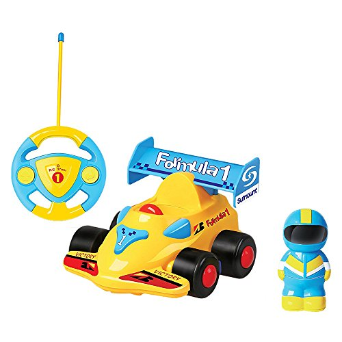 Deexop Cartoon Vehicles Motion Determine Vehicles with Music Taking part in Vehicles Toy for youngsters Worth