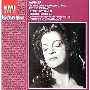 Wagner: Die Walküre (3. Aufzug, Live, Bayreuth 1951)