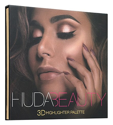 Huda Beauty | Golden Sands - 3D Highlighter Palette (Pearl Pink Lippen)