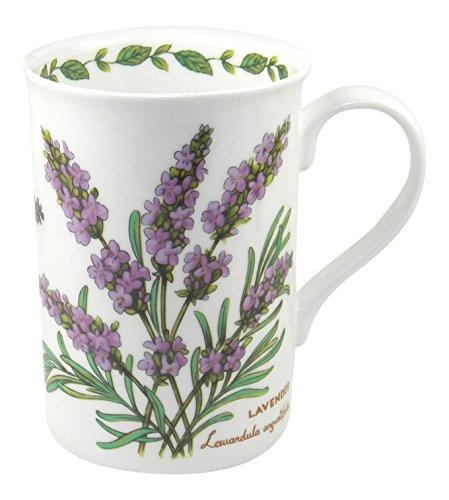 Crown Trent Blumen-Lavendel/Tasse aus Fine Bone China China Spring Bouquet
