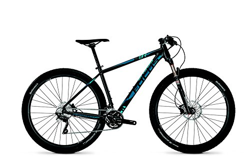 Focus Black Forest 29R 2.0 30 Gang-Kette Herren MTB 29 Zoll 2014 47 cm magicblack-matt(blue/light blue)