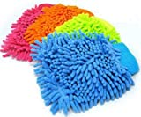 #10: JML Microfibre Soft Super Mitt Dust and Car Clean Double Sided Gloves (Colors May Vary)