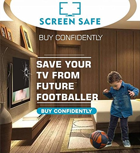 Screensafe Screen Guard/Protector for 40 Inch LED/LCD/3D/PLASMA/TV. Non-Breakable. 100% Crystal Clear Optical Grade.