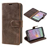 Samsung Galaxy Note 4 Case,Mulbess Leather Case, Flip - Best Reviews Guide