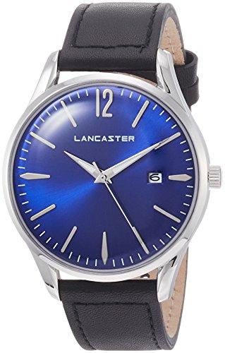 "Lancaster Paris ""Heritage"" reloj de pulsera azul hombre"