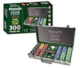 "Piatnik 7903 ""300 Chips - High Gloss Poker Set in Aluminum Case"