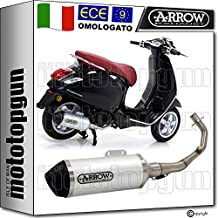 ARROW Tubo de Escape Completo Cat Urban Piaggio Vespa Primavera 125 I Get 3V 2018 18