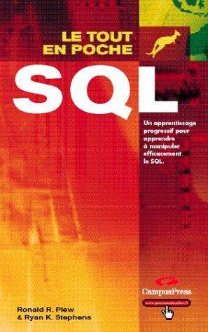 SQL par Ronald R. Plew