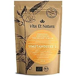 Vita Et Natura BIO Umstandstee 2 - 60g loser Wohlfühl Schwangerschaftstee (13. bis 28. SSW)