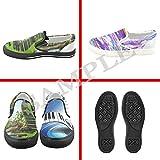 dalliy personalizado plumas de pavo real de los hombres slip-on zapatos de Lienzo Full Print...