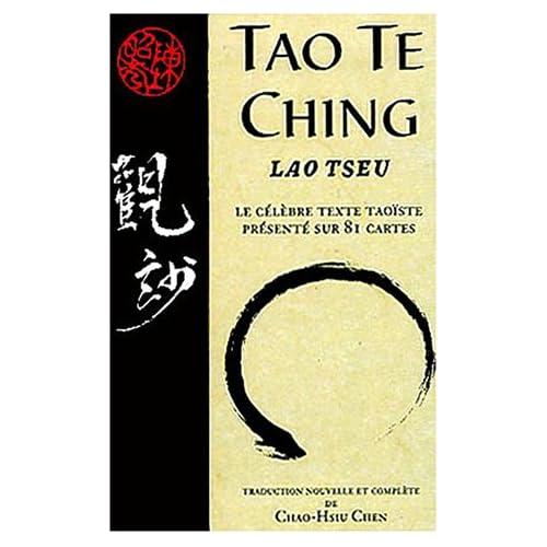 Tao Te Ching : Le célèbre texte taoïste présenté sur 81 cartes