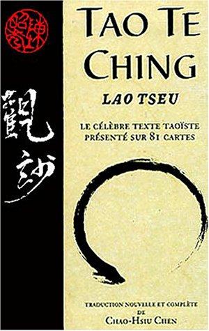 Tao Te Ching : Le célèbre texte taoïste présenté sur 81 cartes par Lao-tseu