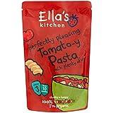 La Cuisine De Ella De Pâtes À La Tomate-Y Parfaitement Agréable Avec Beaucoup De Légumes Stade De 3 Mois À Partir...