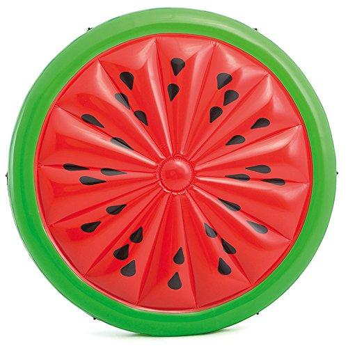 Preisvergleich Produktbild Intex-Luftbett Luftmatratze mit Form von Wassermelone, 183x 23cm (56283eu)