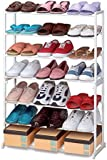 NEW SHOE STAND STORAGE RACK ORGANISER SHELVES 7 TIER 21 PAIRS &10 Tier 30 PAIRS (21 Pairs Shoe Rack)