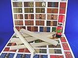 MiniMundus Bogen mit Bucheinbänden zur Herstellung von 45 Büchern für das Puppenhaus