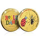 The Koin Club James & the Giant Peach Collection Gold Coin/Medal - Ladybird & Miss Spider