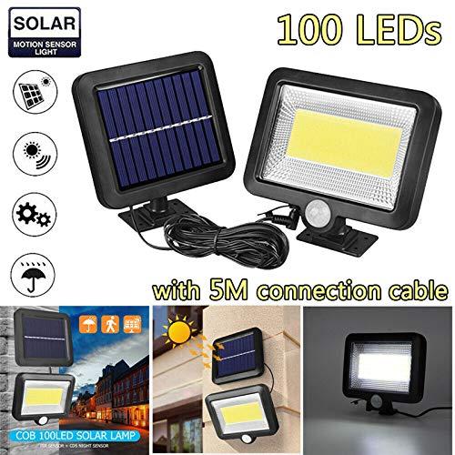 YETE - Lámpara solar de 30 W